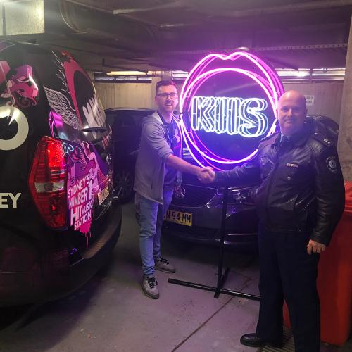 The Stolen KIIS Neon Sign Has Been Found
