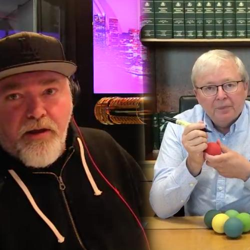 Kyle Challenges Former PM Kevin Rudd To A Handball Tournament