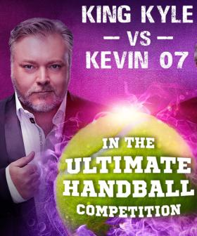 Kyle Will Verse Kevin Rudd In A Handball Competition Next Week