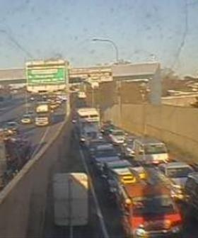 Broken Down Car Results In 6km Queues On Sydney's M5
