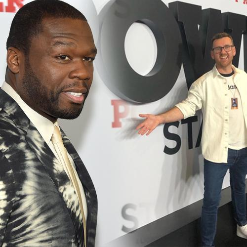 EXCLUSIVE: Intern Pete Gives 50 Cent A Home Made Gift On The Power Red Carpet