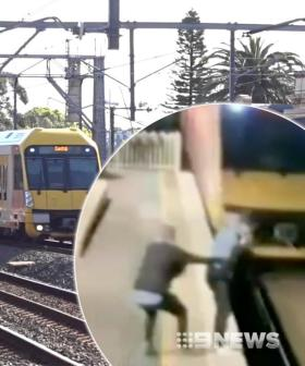 Hero Bystander Saves Stranger From Oncoming Train In Sydney