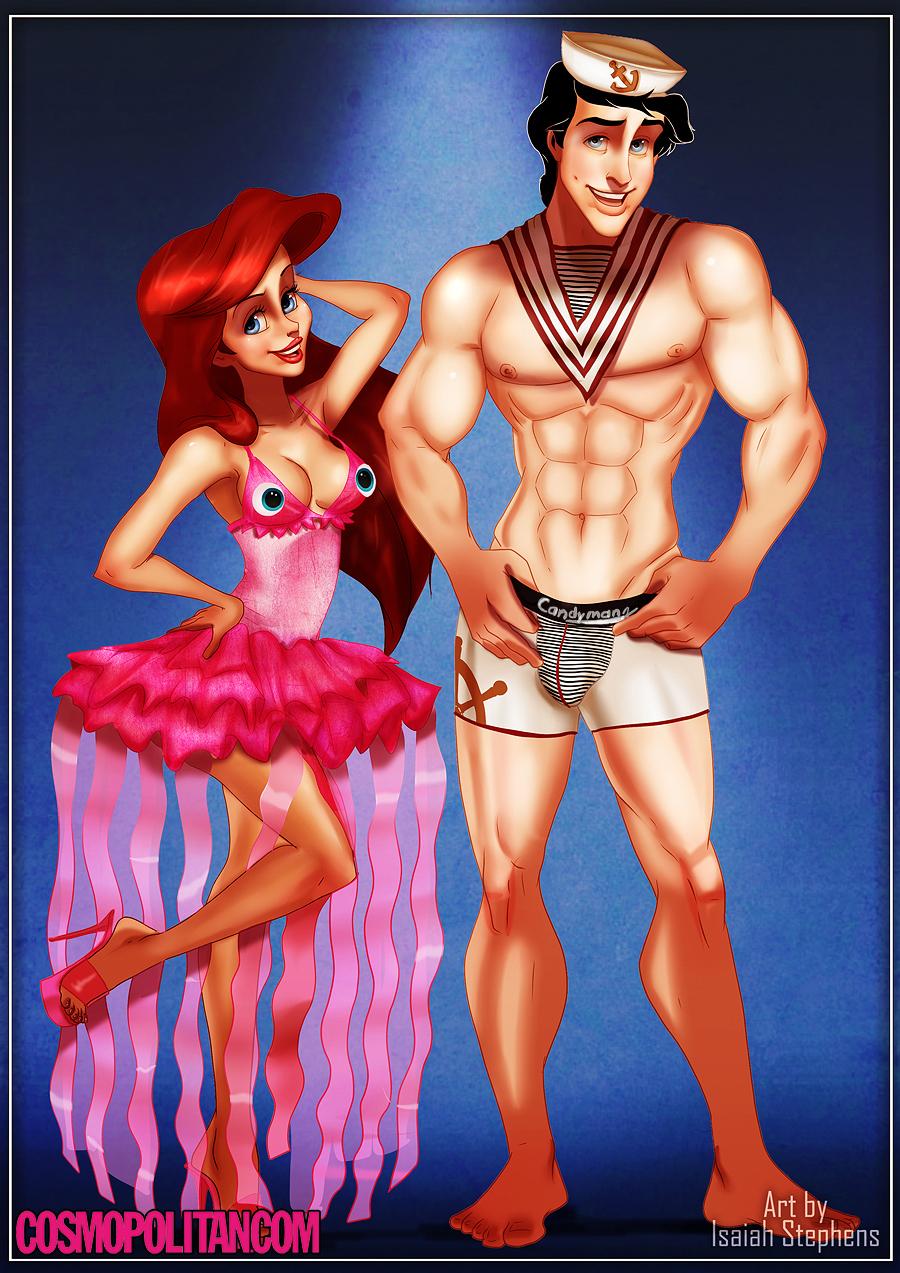 Aladdin Sexy if disney princesses wore 'sexy' halloween costumes