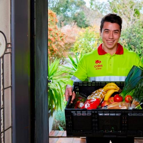 Coles Online Thanks Customers With FREE Home Delivery Offer