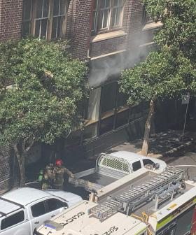 Firefighters Race To Extinguish Fire From Nomad Restaurant In Surry Hills