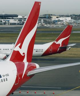 Qantas Flights Cancelled Due To High Winds In Sydney