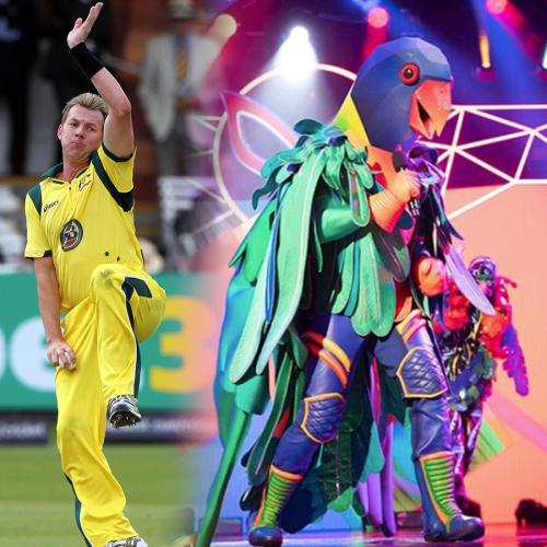 Watch Brett Lee Perform As The Parrot On The Masked Singer