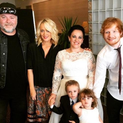 Ed Sheeran Gave Couple Heart Stopping Surprise On Their Wedding Day