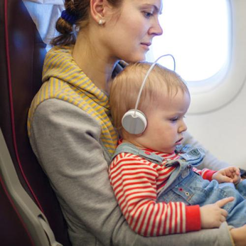 Mum Hit With A Nasty Bill After Her Son Was Sick Mid-Flight
