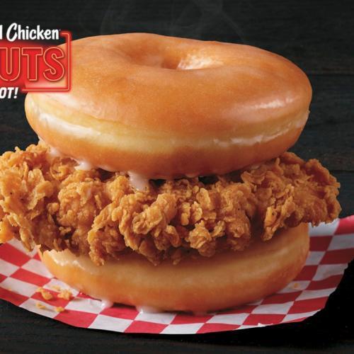 KFC Trials Fried Chicken In Glazed Doughnut Bun