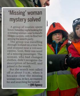 The Hilarious 'Missing' Tourist Story That Has Gone Viral