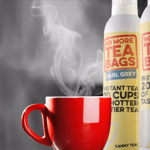 Tea Is Now In An Aerosol Can Because Of Course It Is