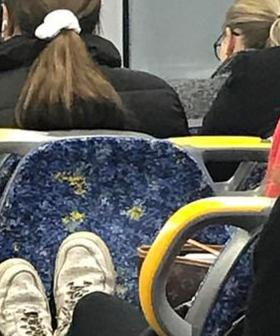 Sydney Train Passenger Snaps After Being Told To Remove Her Dirty Shoes And Louis Vuitton Bag Off Empty Seat