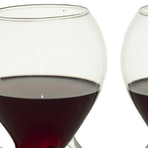 These Wine Glasses Have Built-In Straws For Your Convenience