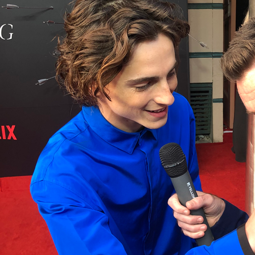 THE KING Premiere: For Once It Wasn't Intern Pete Pushing People's Buttons On The Red Carpet!