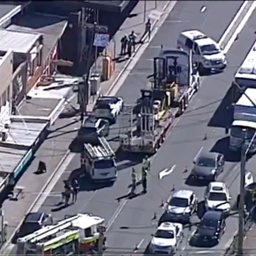 Truck Brings Down Power Lines In Sydney's North-West