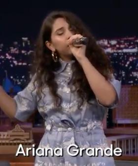 Alessia Cara Sings 'Bad Guy' While Doing Celebrity Impressions On The Tonight Show
