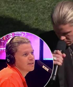 Conrad Sewell Responds To AFL National Anthem Criticism