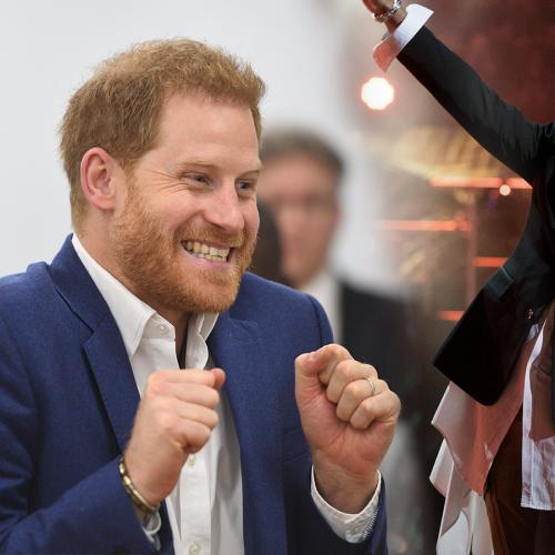 Turns Out Prince Harry Is Actually A Major Fan Of Shaggy's Music