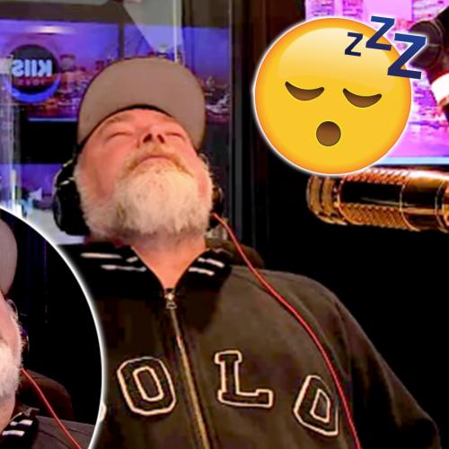Kyle Goes To Sleep Live On Air!