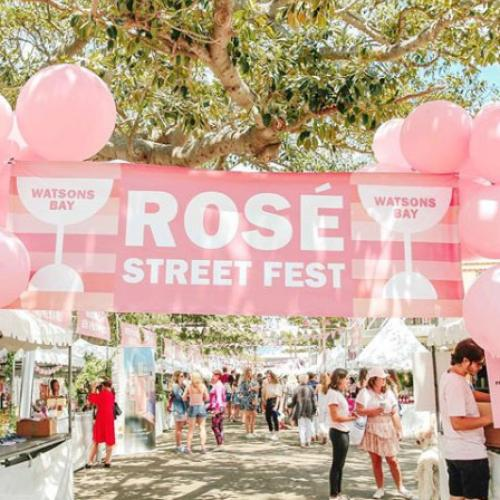 A Rosé Street Festival Is Going Down In Watsons Bay
