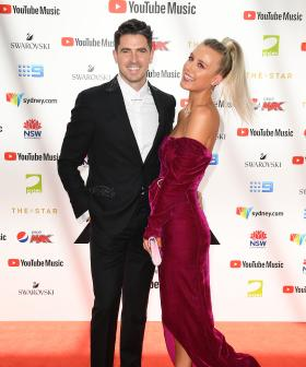 http://Olivia%20Phyland%20and%20Scott%20Tweedie%20arrive%20at%20the%2033rd%20Annual%20ARIA%20Music%20Awards%20at%20The%20Star%20in%20Sydney,%20Wednesday,%20November%2027,%202019.%20(AAP%20Image/Dan%20Himbrechts)%20NO%20ARCHIVING