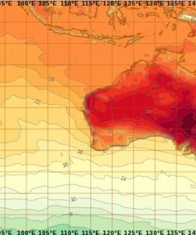 Today Is The First Day In History Where It Forgot To Rain Across The WHOLE Of Australia