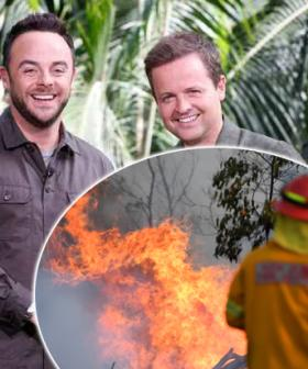 NSW Bushfires Threaten I'm A Celebrity UK Camp Here In Australia