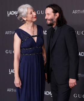 Keanu Reeves Walks The Red Carpet With His Girlfriend For the Very First Time