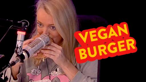 Kyle & Jackie O Try The Hungry Jacks Vegan Burger