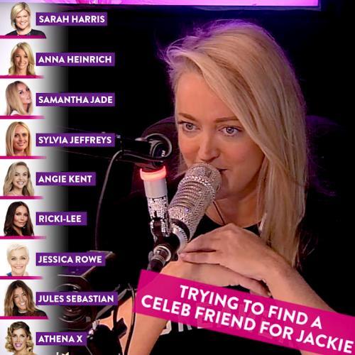 Finding Jackie O a celeb BFF!