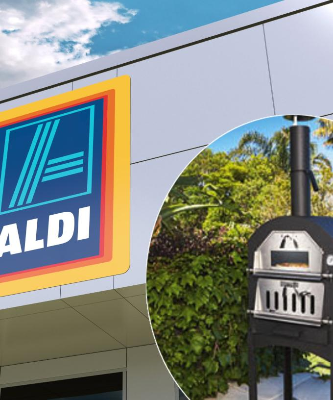 Aldi Is Selling A Woodfire Pizza Oven For Just 149