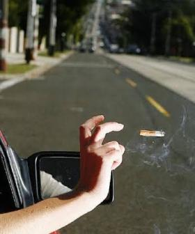How You Can Dob In Someone For Tossing A Lit Cigarette During A Total Fire Ban