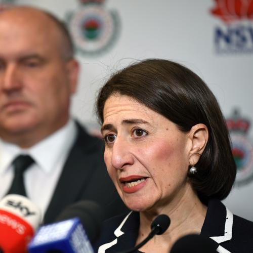 Gladys Berejiklian's Message For Climate Change Protesters During NSW Bushfires