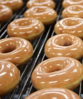 Krispy Kreme Penrith Is Celebrating A Hole-y Jolly Christmas With Free Doughnuts