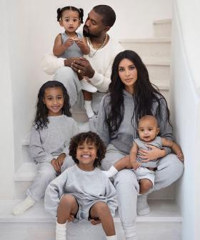 Kim Kardashian West Admits To Photoshopping North Into The Family Christmas Card