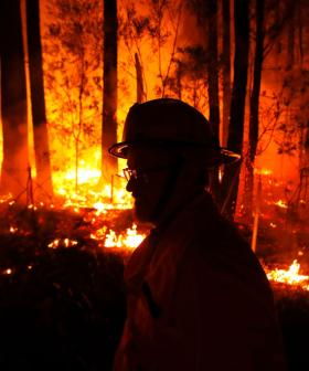 Twenty Eight People Are Missing And Two Are Dead From Bushfires Raging In Victoria's East Gippsland Region