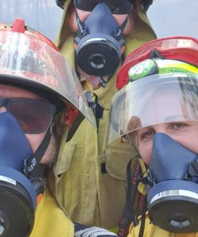 Cancer Advocate Raises Funds For Protective Respiratory Masks For Volunteer Firefighters