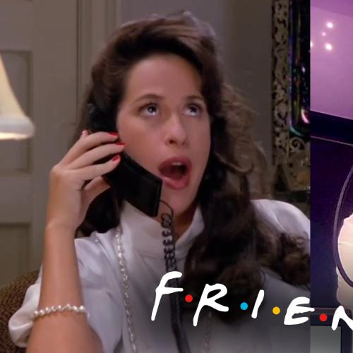 Oh... My... GOD! Janice from FRIENDS surprises Jackie for her birthday!