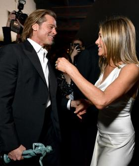 Jackie Just Bet Kyle $10K That Brad Pitt And Jennifer Aniston Will Get Back Together