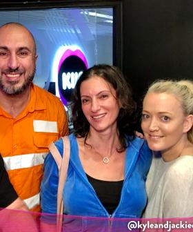 Kyle And Jackie O Help Woman With Her Mission To Provide Our Firies With Proper Masks