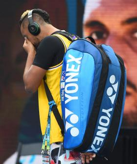 Nick Kyrgios Tears Up While Paying Tribute To Kobe Bryant At The Australian Open
