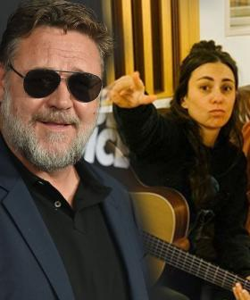 Turns Out Russell Crowe Is The One Who Set up Amy Shark's Upcoming Collab With Ed Sheeran