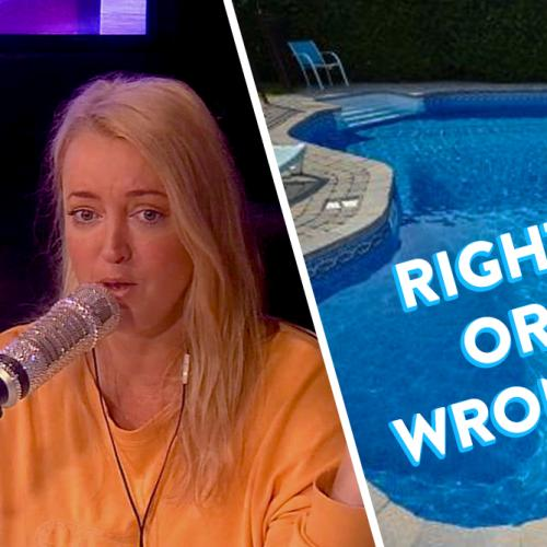 Jackie's gross confession - RIGHT or WRONG? 💦😱