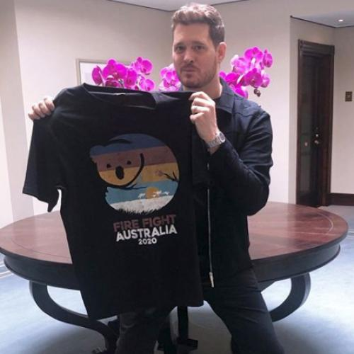 Michael Bublé On Why He Signed On To The Fire Fight Australia Concert