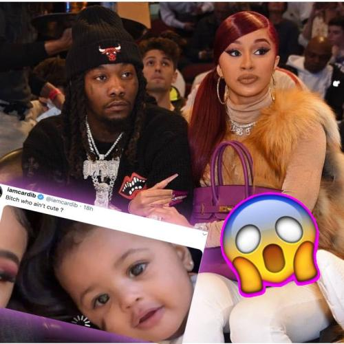 Cardi B DESTROYS Internet Troll Over Comment About Daughter Kulture's Looks