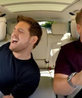 Michael Bublé On Whether James Corden Drove During His Carpool Karaoke Episode
