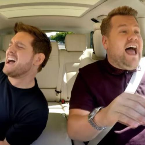 Michael Bublé On Whether James Corden Drove During His Carpool Karaoke Episode