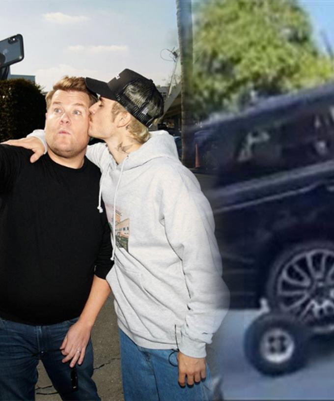 Carpool Karoake Christmas 2020 James Corden Justin Bieber's Carpool Karaoke Is Here And Now We Know Why James