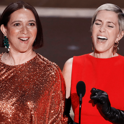 Costume & Production Design Are Now The Coolest Oscar Categories Thanks To Kristen Wiig & Maya Rudolph